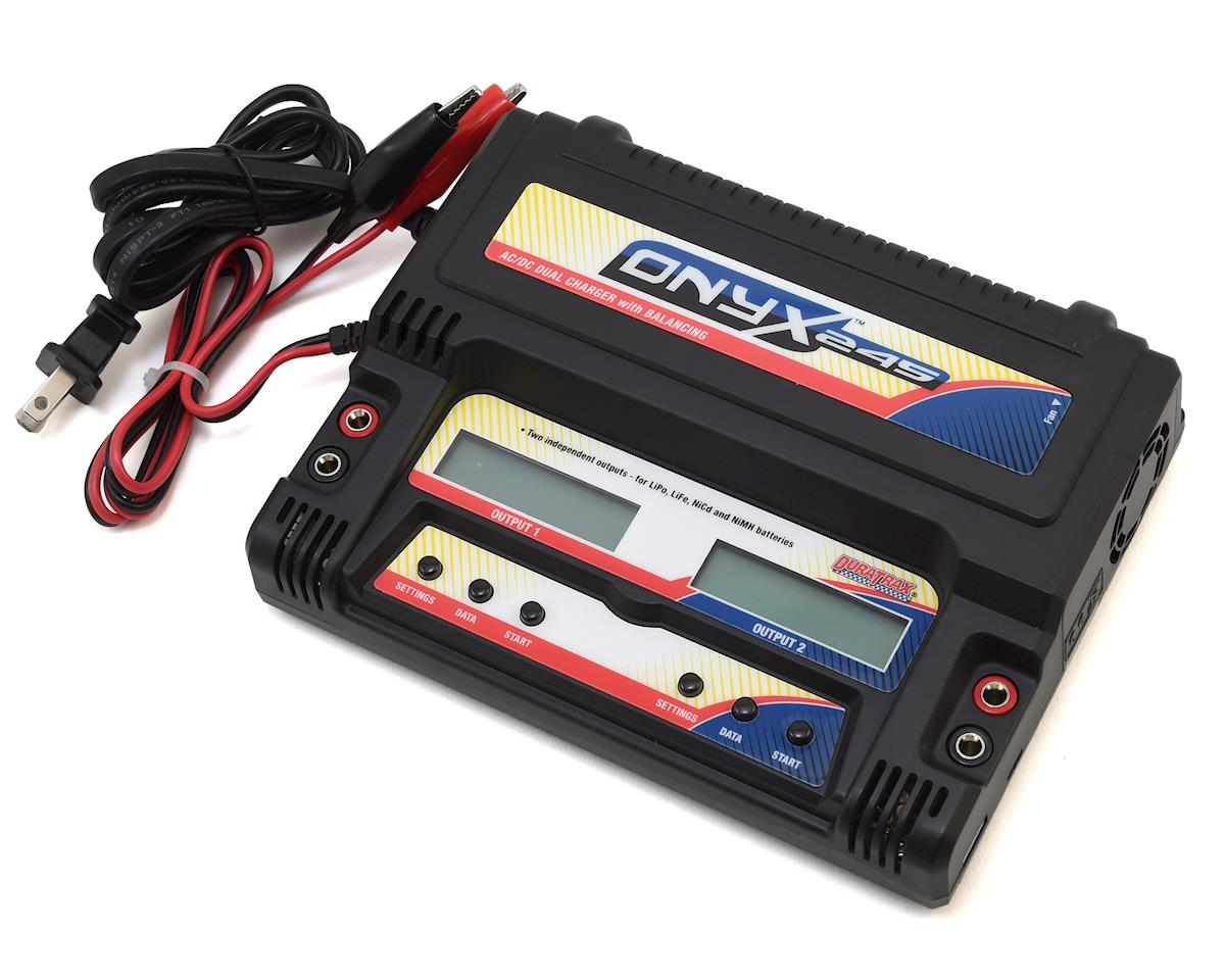 DuraTrax ONYX 245 AC/DC Dual Battery Balancing Charger (3S/5A/40W x2)
