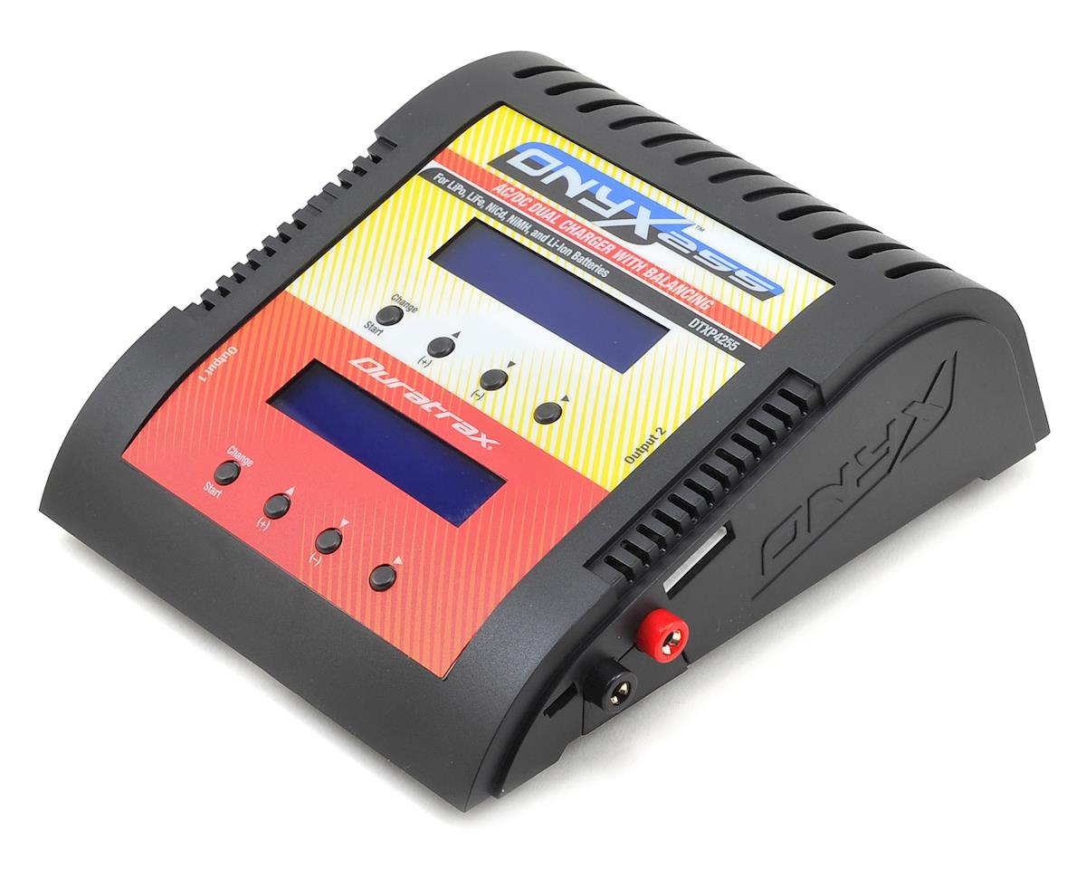DuraTrax Onyx 255 AC/DC Dual Charger w/LCD Display