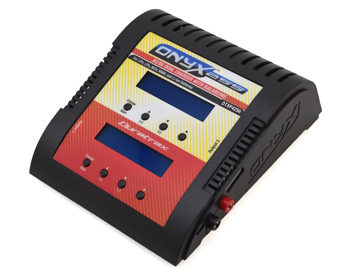 ONYX 255 AC/DC Dual Channel LiPo/NiMH Battery Charger (6S/6A/60W x2) by DuraTrax