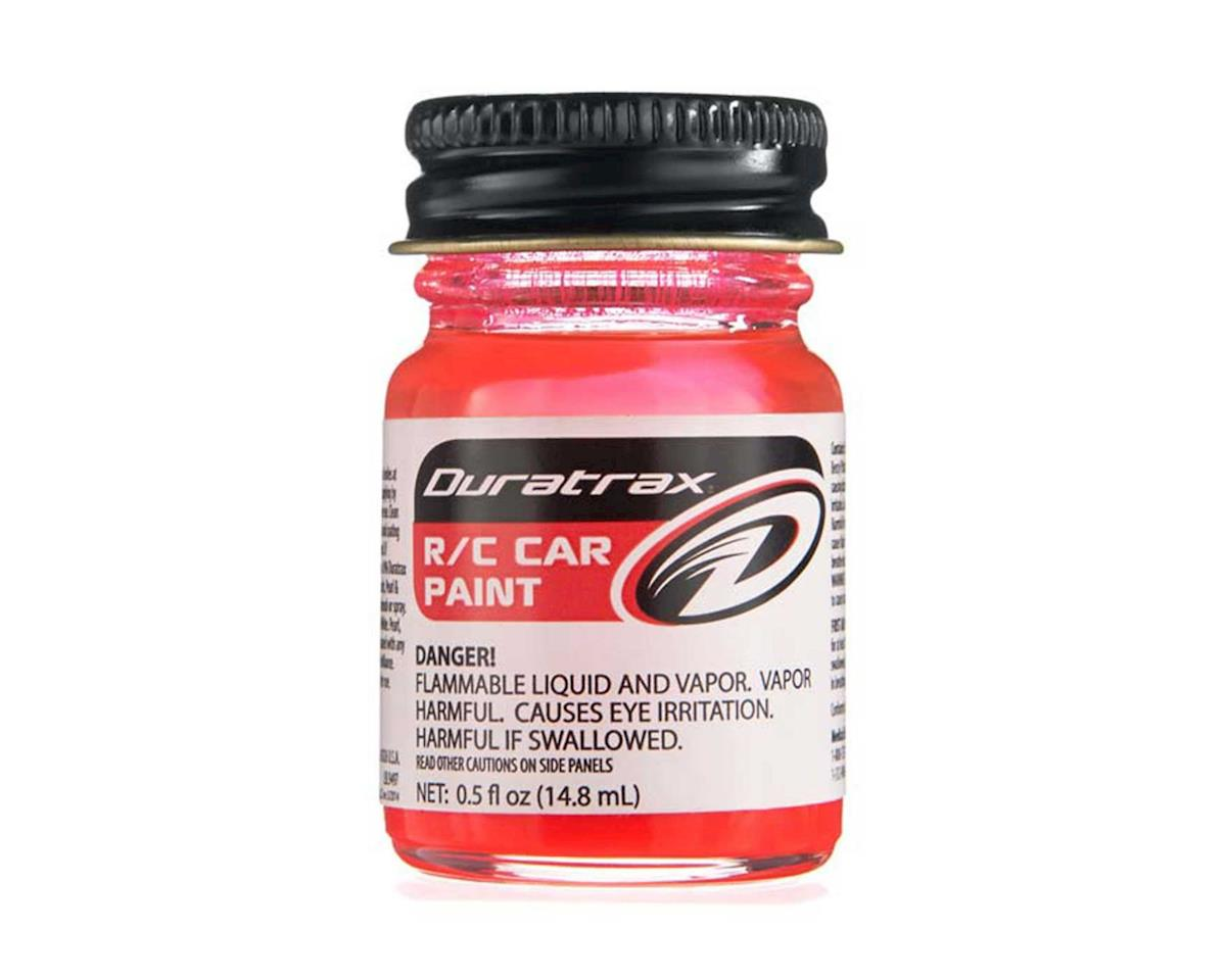 DuraTrax Polycarb Fluorescent Red Paint (0.5oz)