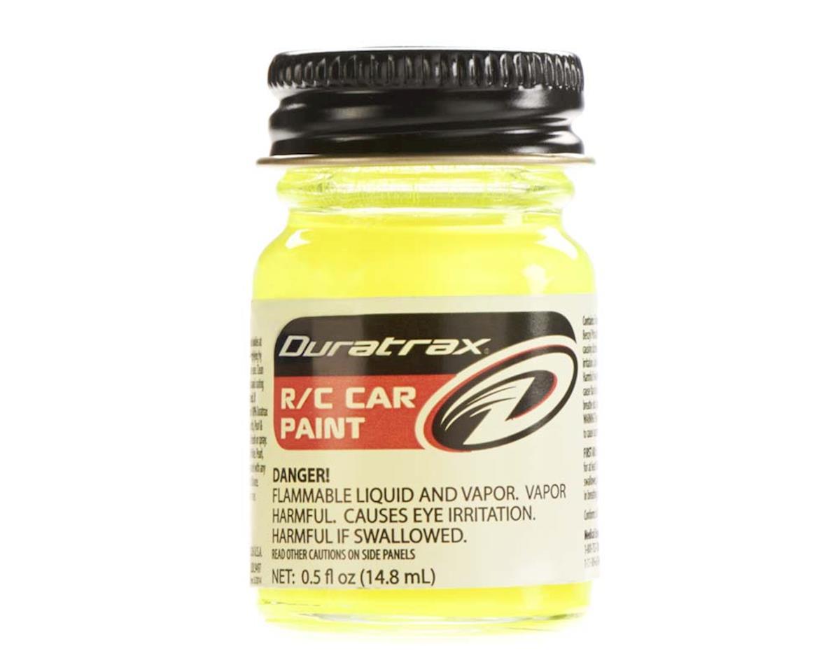 DuraTrax Duratrax Polycarb Fluorescent Yellow .5Oz