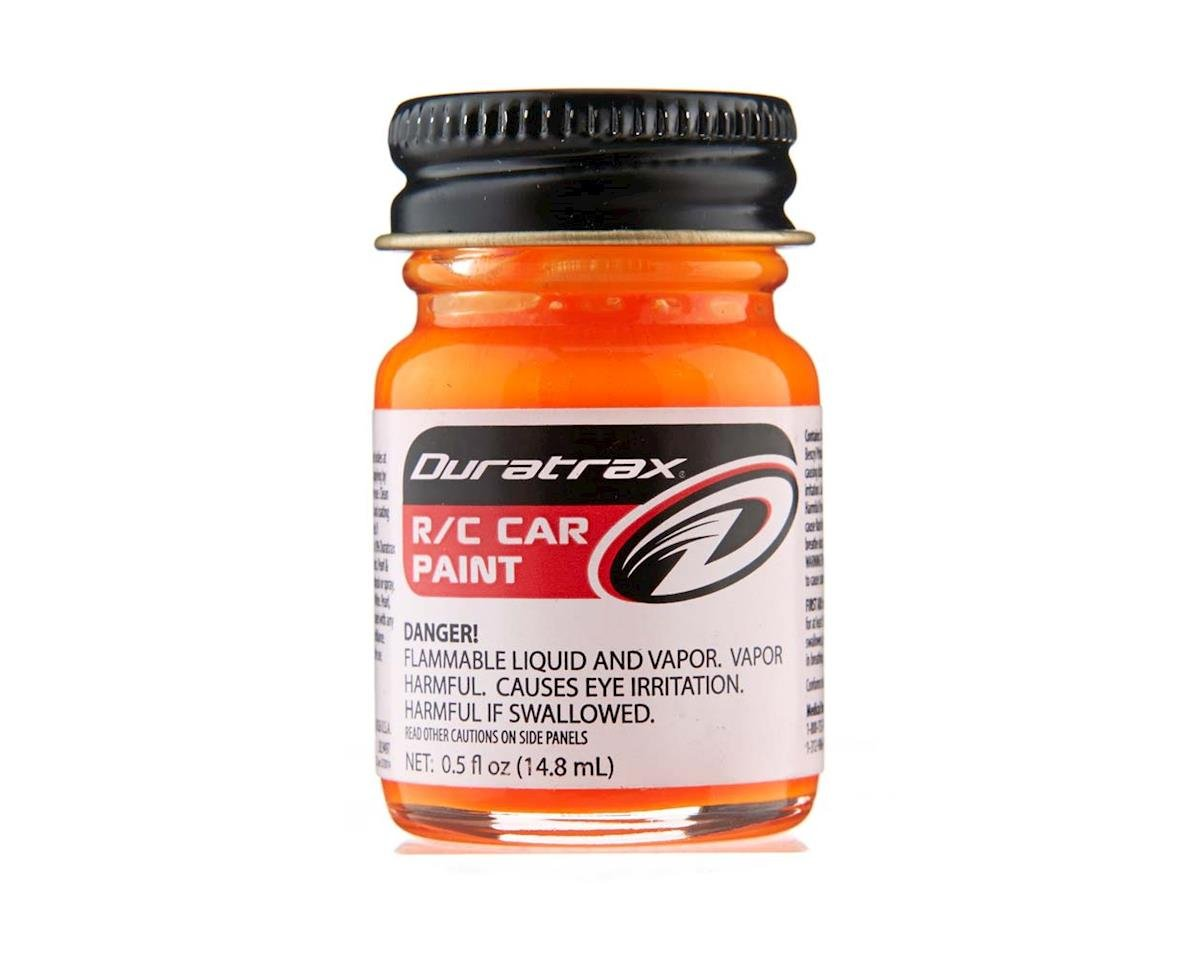 Polycarb Fluorescent Bright Orange Paint (0.5oz) by DuraTrax