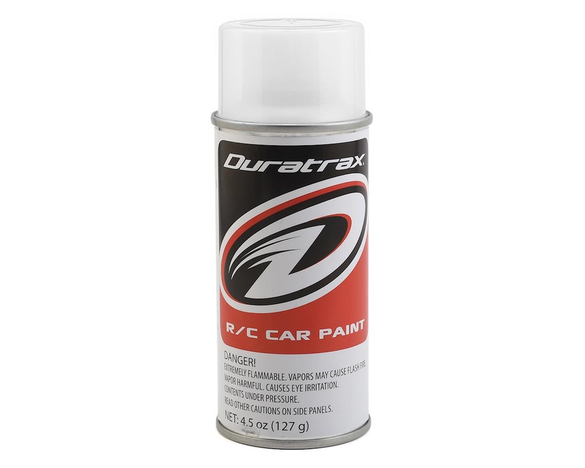 Polycarb Bright White Spray Paint (4.5oz) by DuraTrax