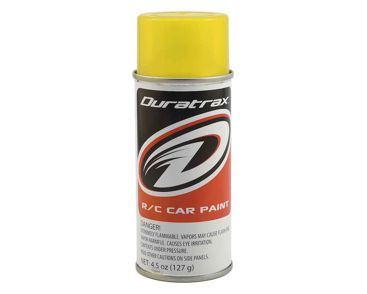 DuraTrax Polycarb Mellow Yellow Lexan Spray Paint (4.5oz)