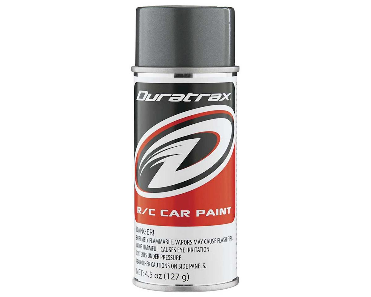 DuraTrax Polycarb Gunmetal Lexan Spray Paint (4.5oz)
