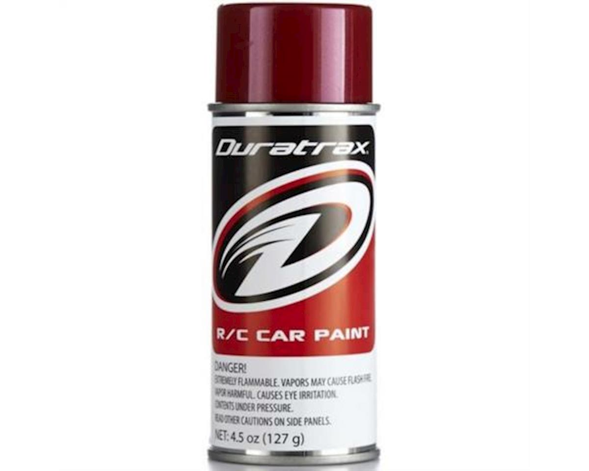 DuraTrax Polycarb Spray Metallic Red 4.5 oz