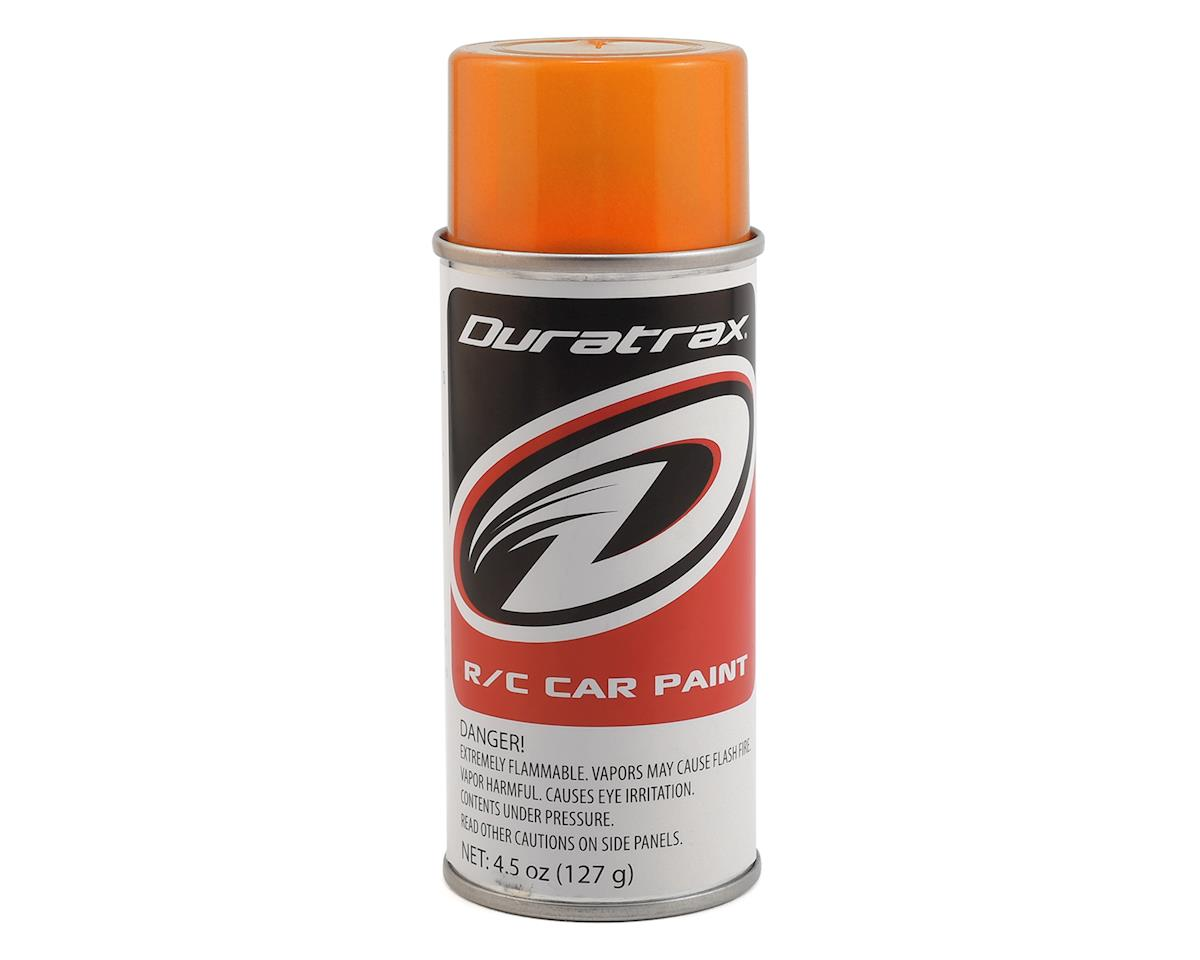 DuraTrax Polycarb Fluorescent Orange Spray Paint (4.5oz)