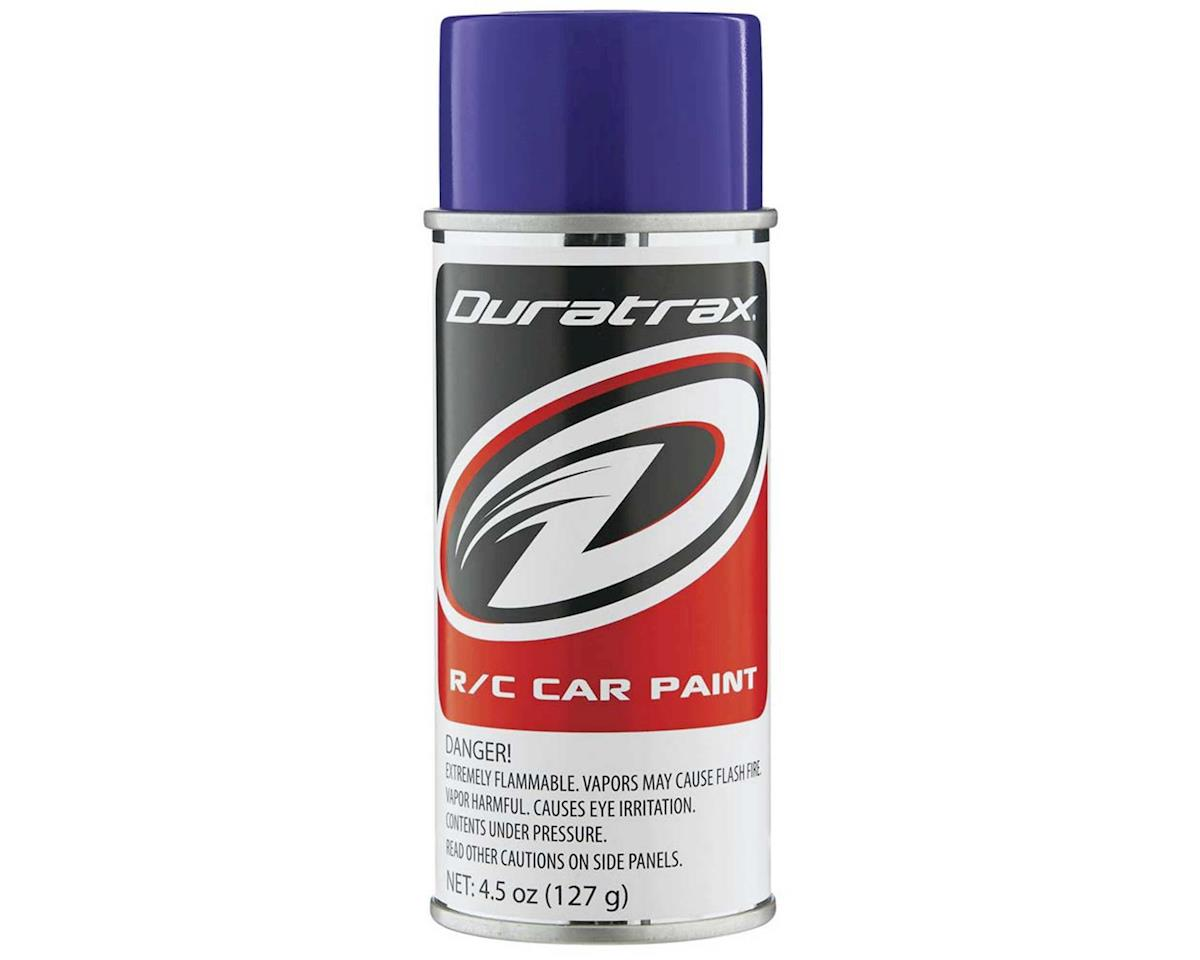 DuraTrax Polycarb Purple Lexan Spray Paint (4.5oz)