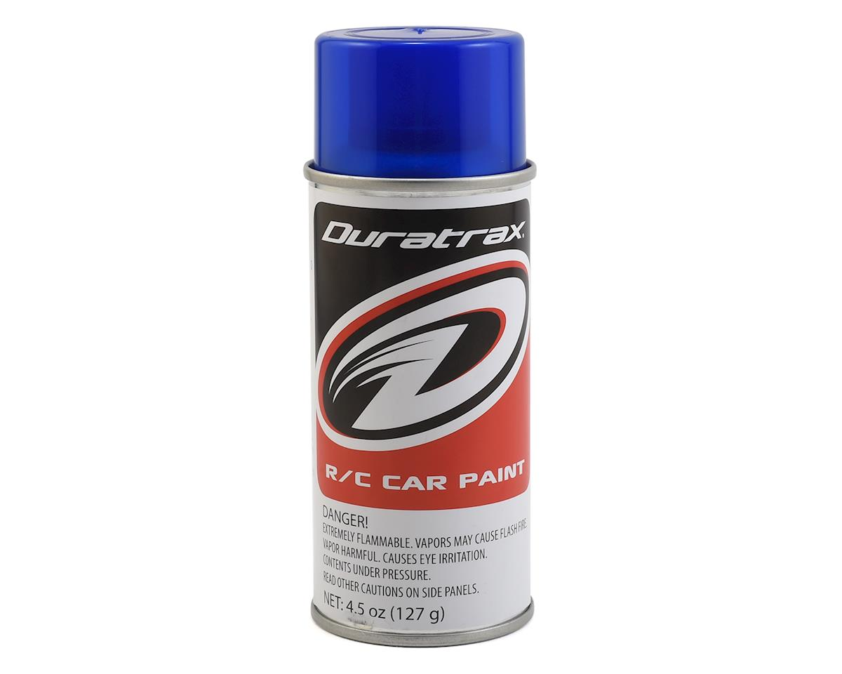 DuraTrax Polycarb Pearl Blue Lexan Spray Paint (4.5oz)