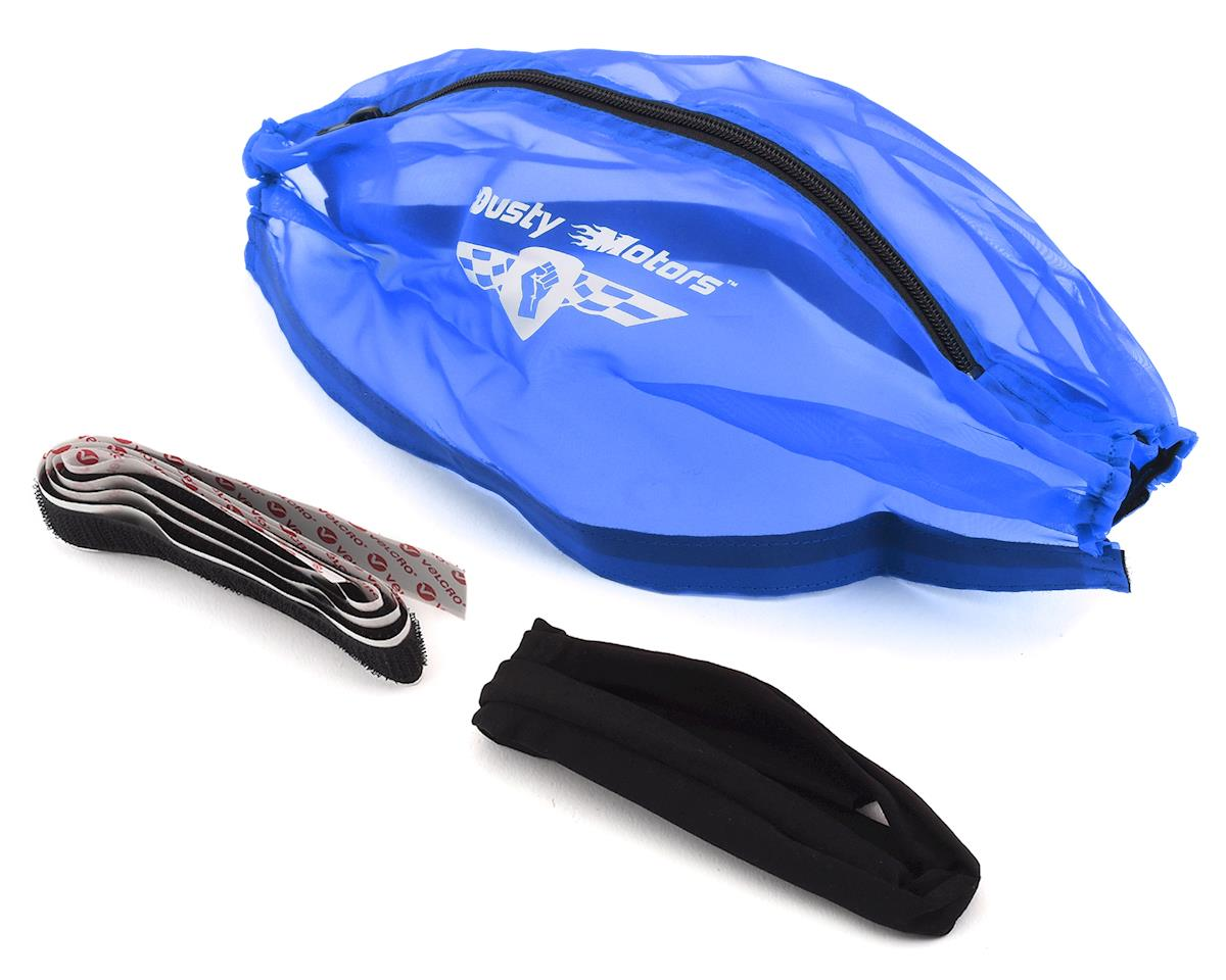 Dusty Motors Traxxas E-Revo/Summit Protection Cover (Blue)