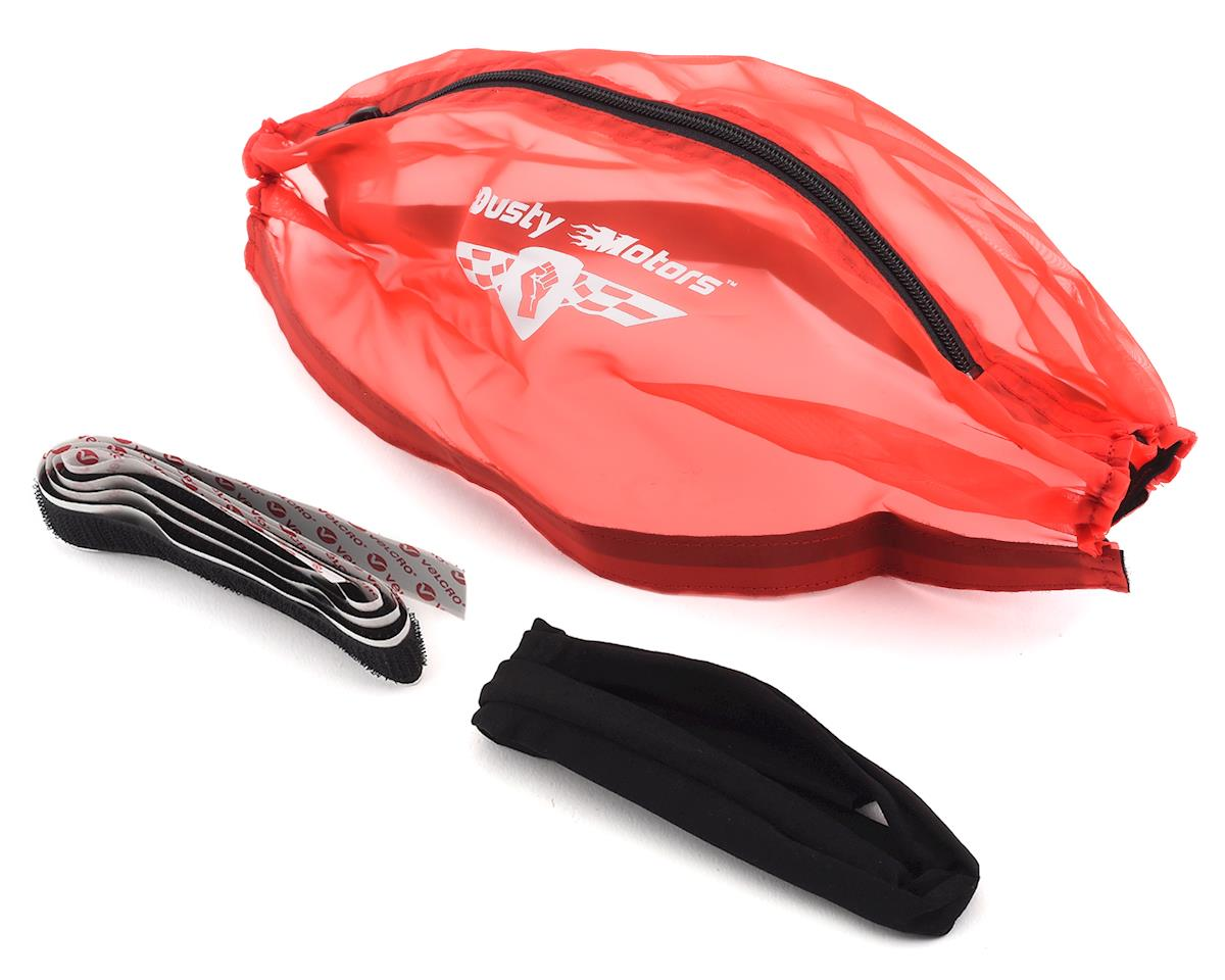 Dusty Motors Traxxas E-Revo/Summit Protection Cover (Red)