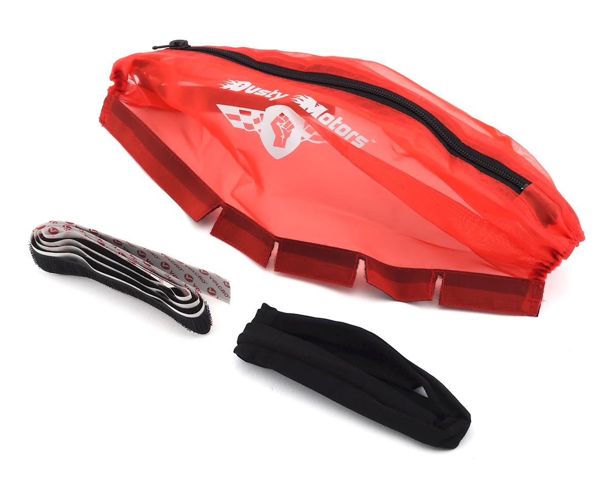Dusty Motors Traxxas Slash 4X4 LCG/Rally Protection Cover (Red)