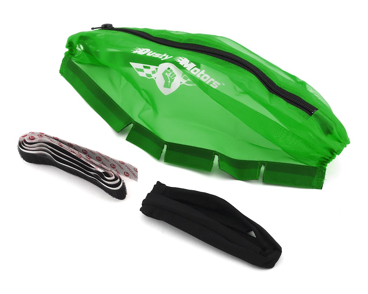 Dusty Motors Traxxas Slash 4X4/Rally 1/10 LCG Chassis Protection Cover (Green)