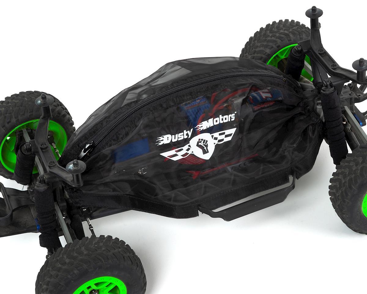 Dusty Motors Traxxas Rustler/Bandit Protection Cover (Black)