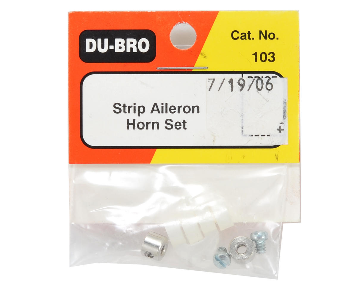 Du-Bro Strip Aileron Horn Connector Set