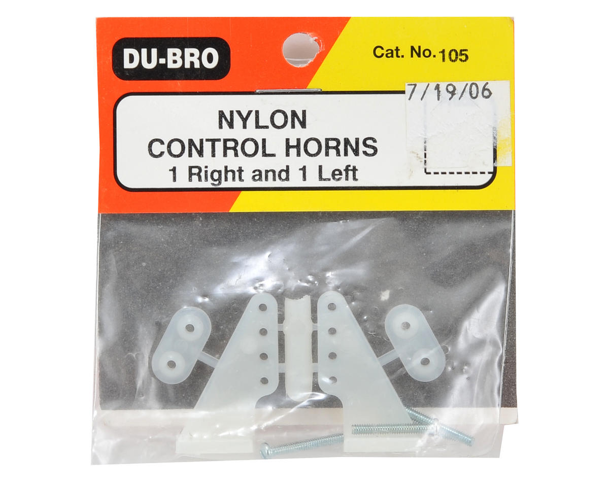 Du-Bro Nylon Control Horn Set (Large)