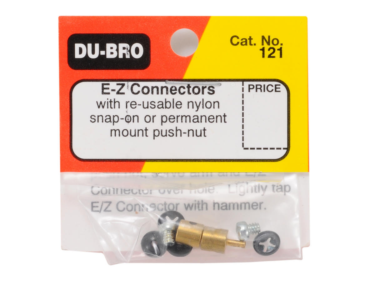 E/Z Connectors (2) by DuBro