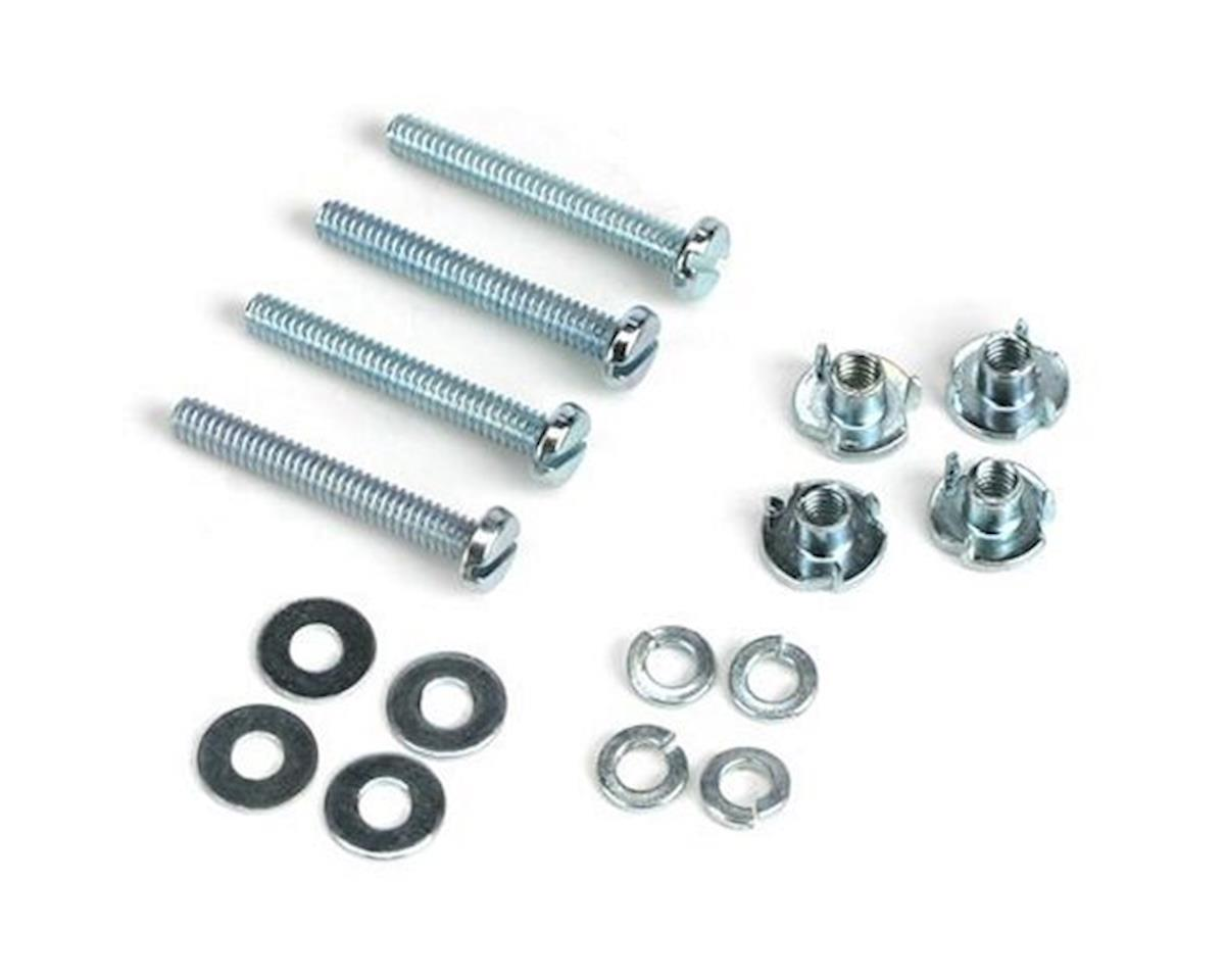 Mounting Bolts & Nuts (4), 2-56 x 1/2 by DuBro