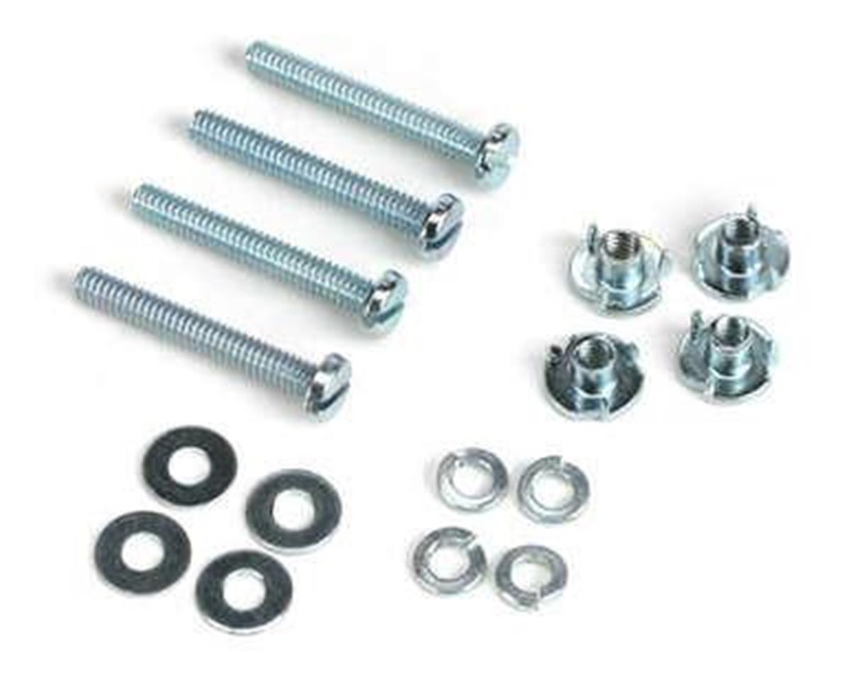 "Du-Bro Mounting Bolts & Nuts (4-40x1-1/4"")"