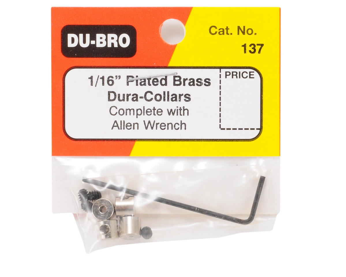 "Image 2 for DuBro 1/16"" Dura-Collar (4)"