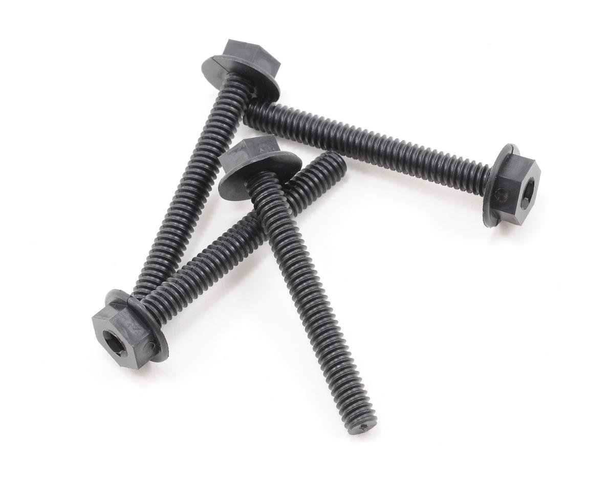 "DuBro 1/4-20 x 2"" Nylon Wing Bolts (4)"