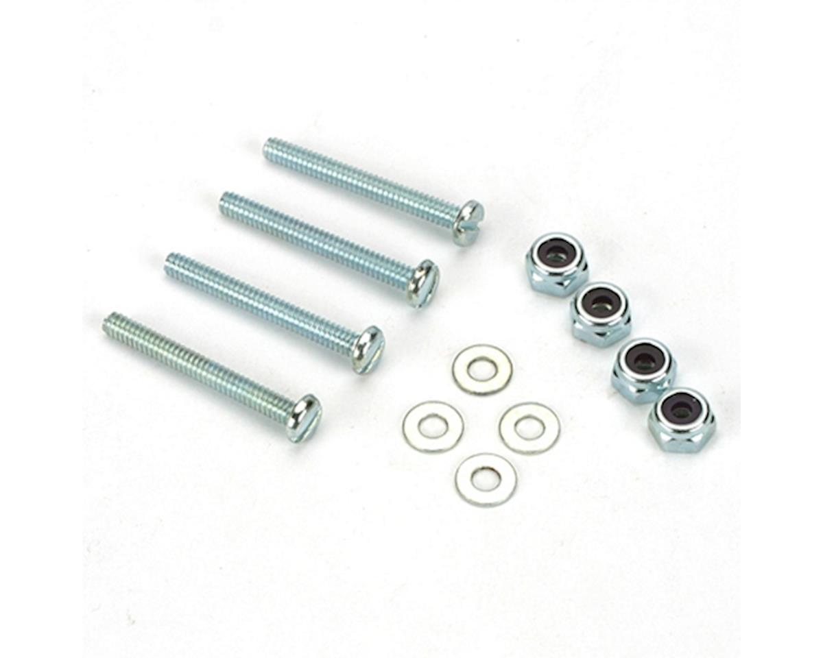 DuBro Bolt & Lock Nut Set,6-32 x 1 1/4