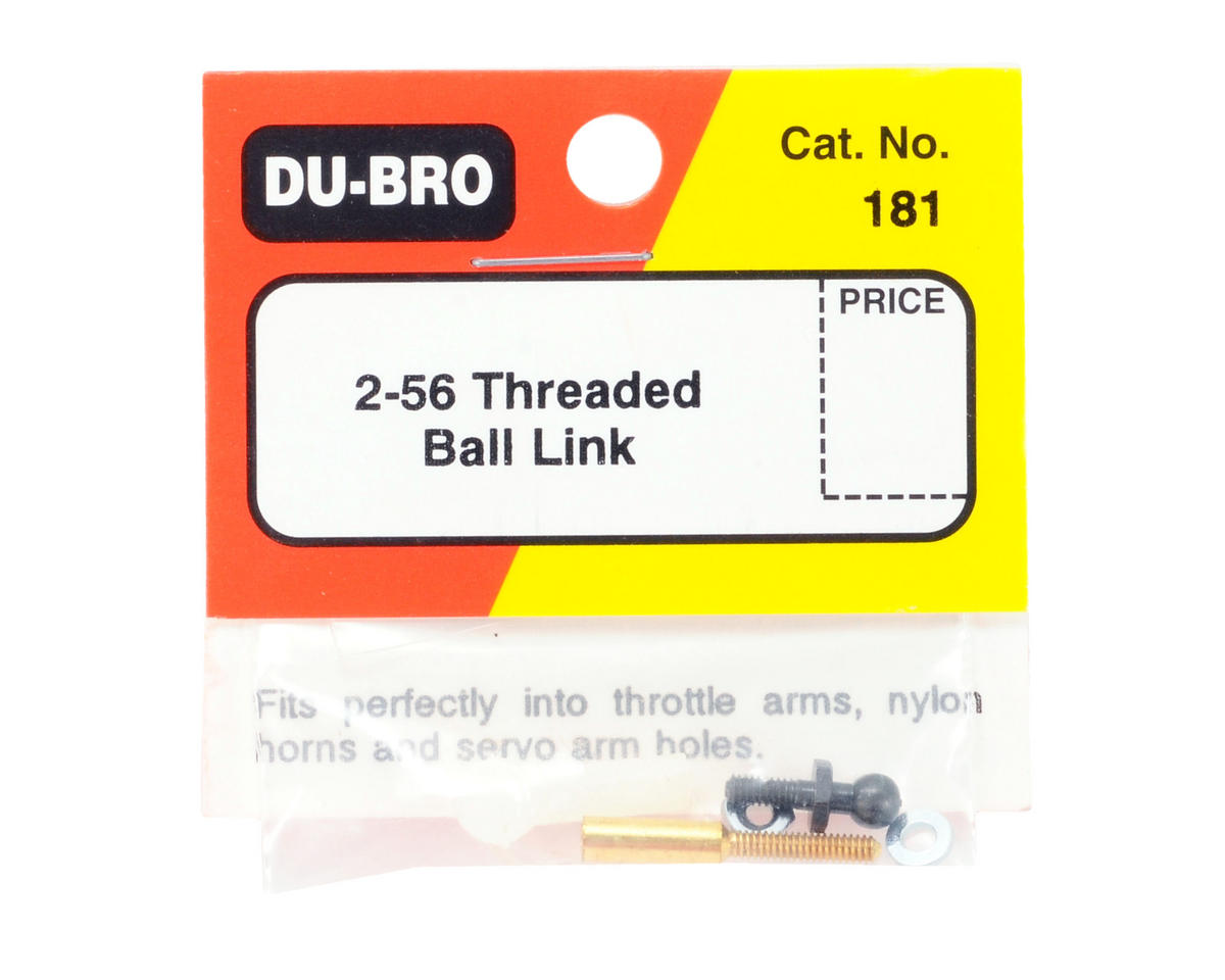 Du-Bro 2-56 Threaded Ball Link