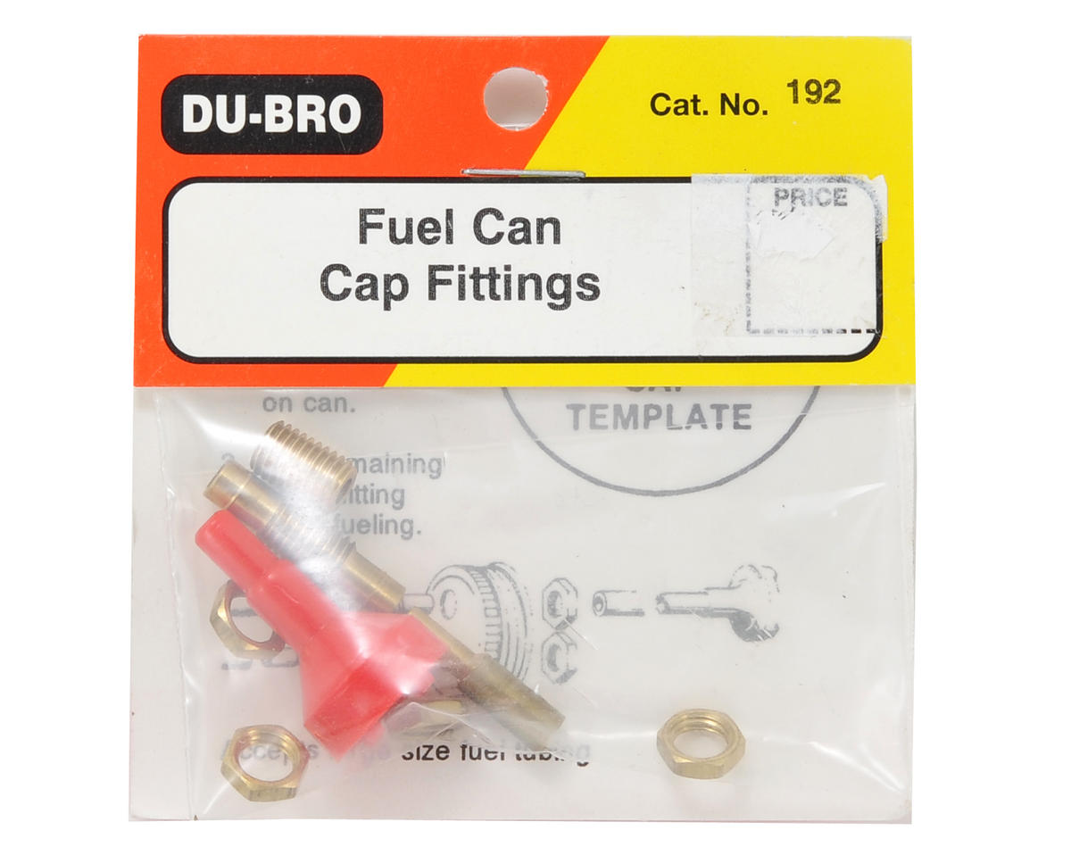Du-Bro Fuel Can Cap Fitting Set