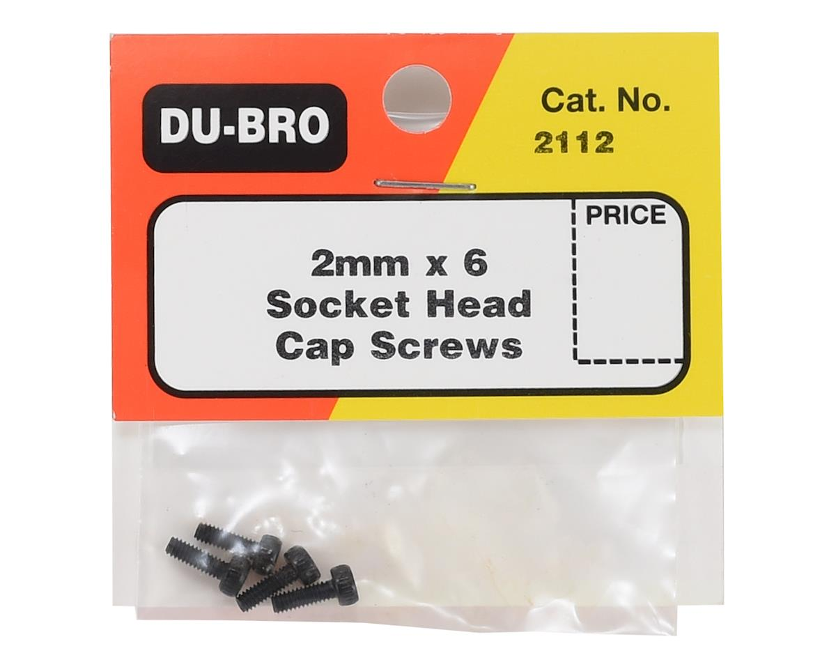 DuBro 2x6mm Cap Head Screws (4)