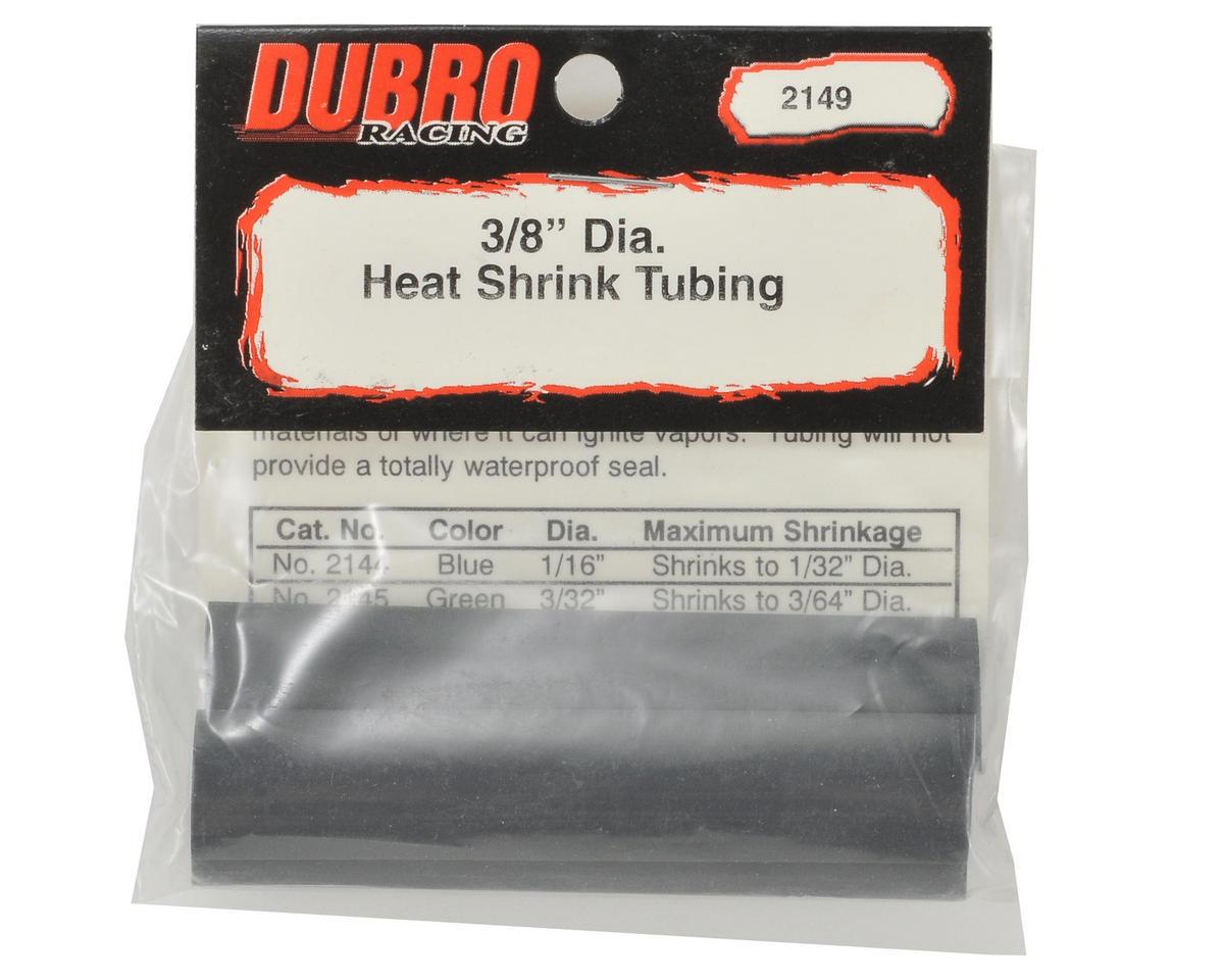"DuBro 3/8"" Heat Shrink Tubing (Black) (3)"