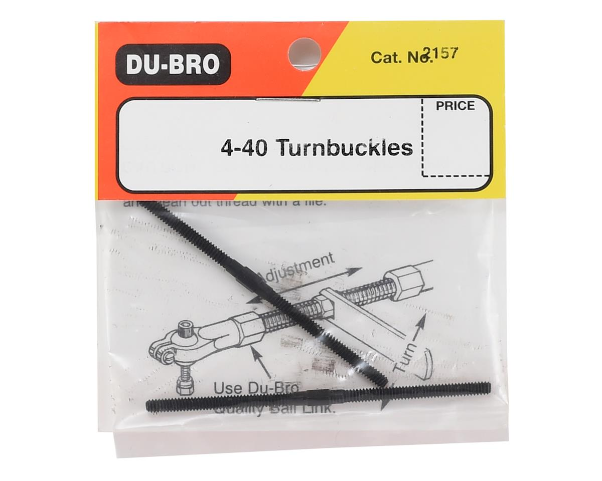 "DuBro 4-40x2-5/8"" Turnbuckles (2)"