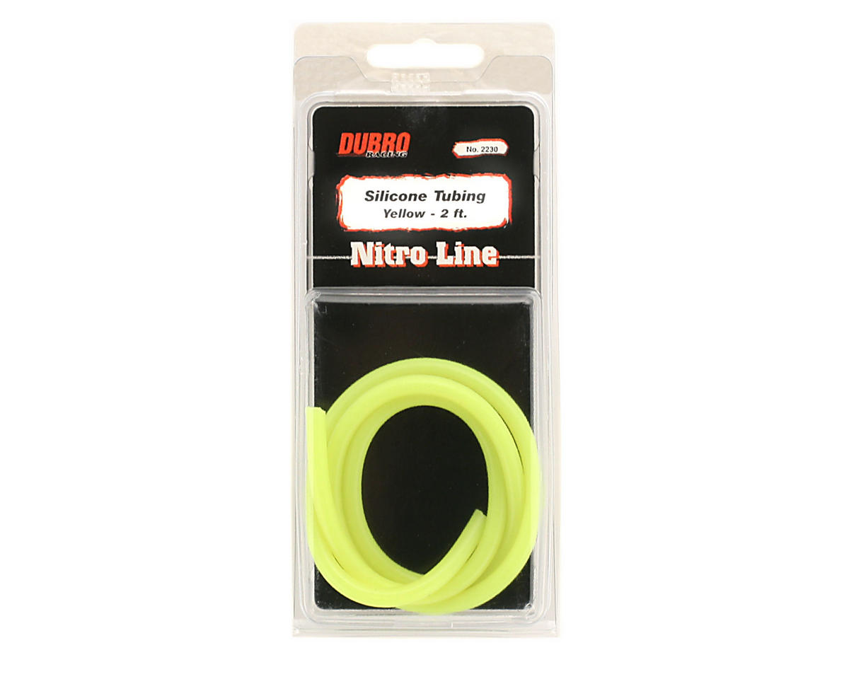 "DuBro ""Nitro Line"" Silicone Fuel Tubing (Yellow) (61cm)"