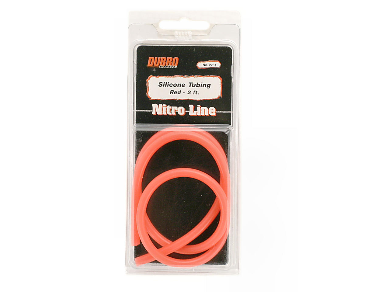 "DuBro ""Nitro Line"" Silicone Fuel Tubing (Red) (61cm)"