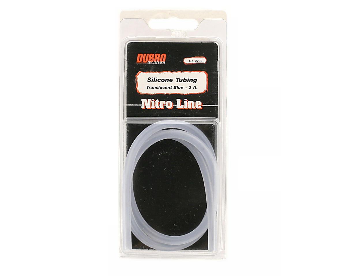"DuBro ""Nitro Line"" Silicone Fuel Tubing (Blue) (61cm)"