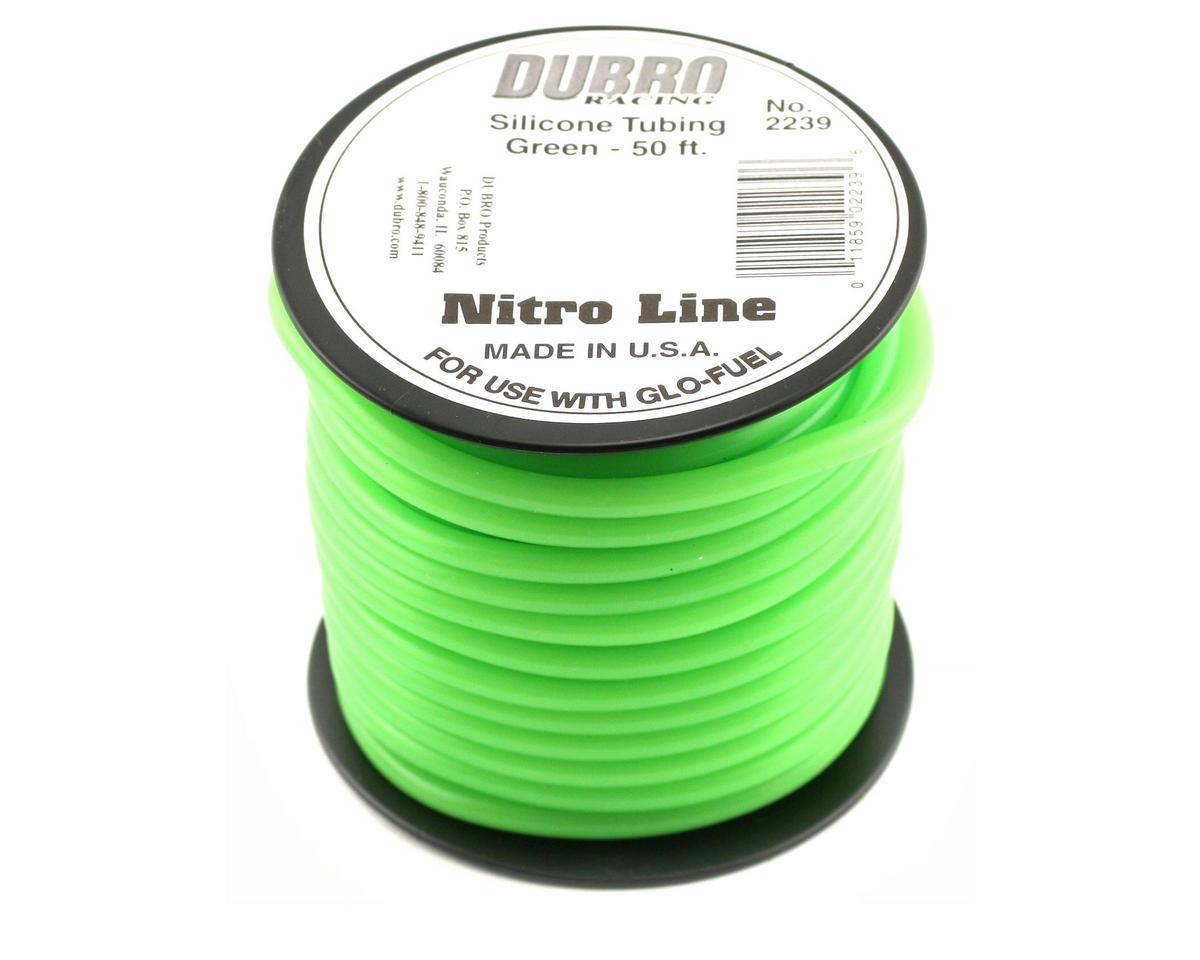 "Du-Bro ""Nitro Line"" Silicone Fuel Tubing (Green) (1524cm)"