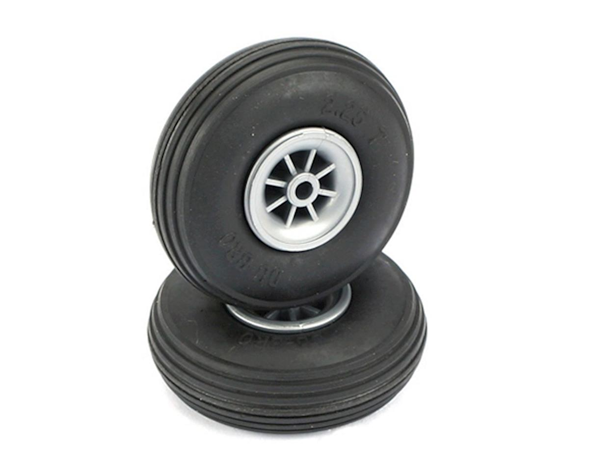 "Treaded Wheels, 2-1/4"" by DuBro"