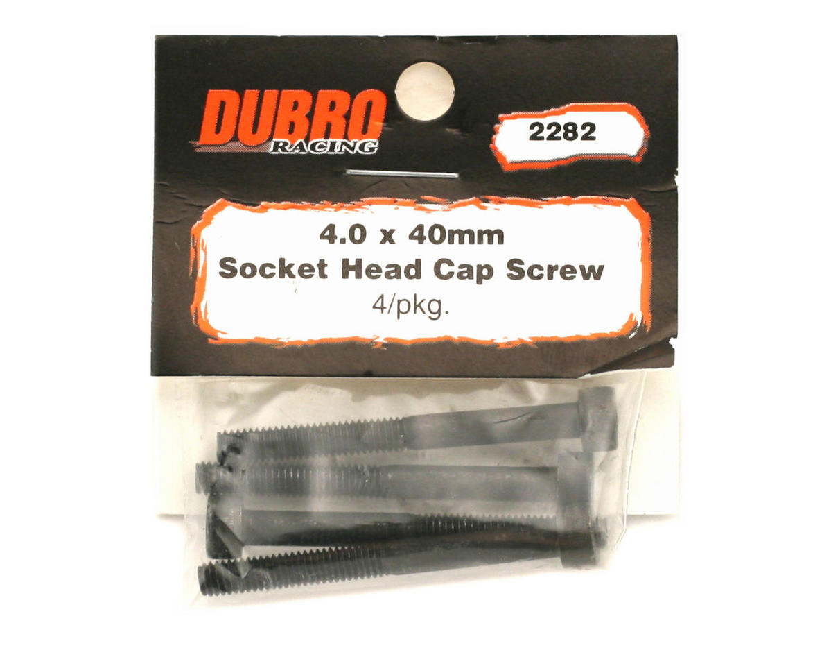 Image 2 for DuBro 4x40mm Socket Head Cap Screws (4)