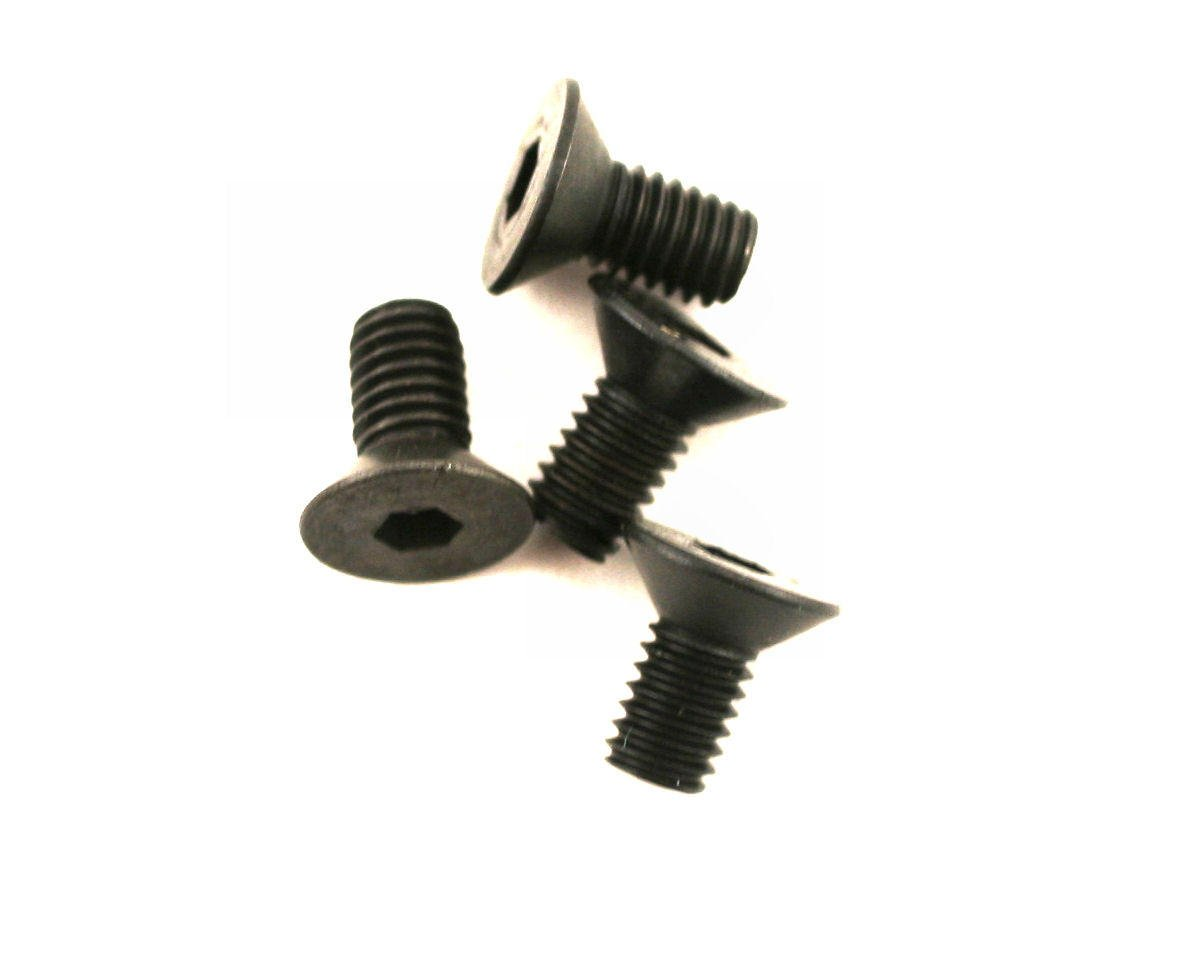 DuBro 3x6mm Flat Head Socket Screws (4)