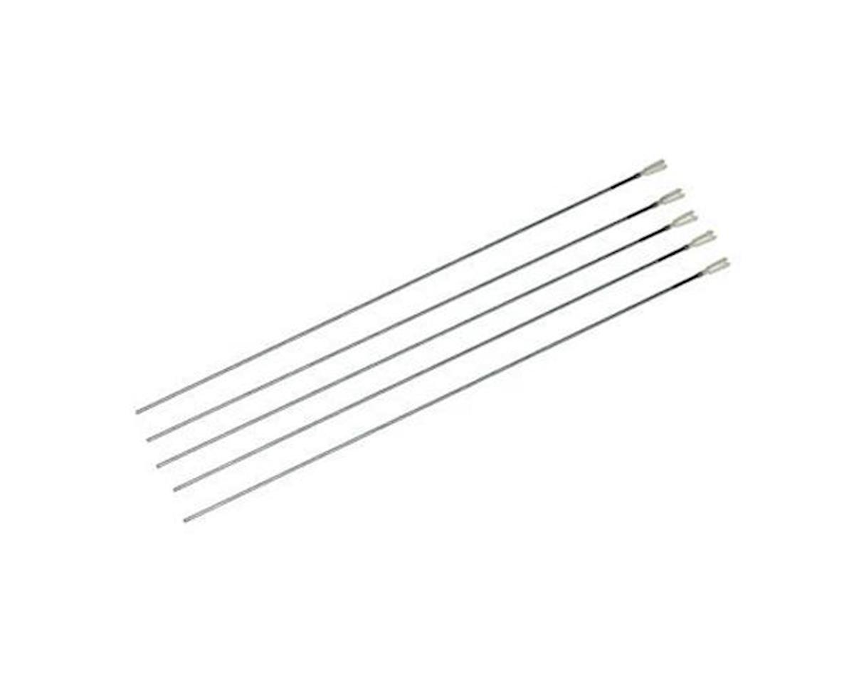 """Du-Bro 2-56 Rod w/ Mini-Nylon Kwik-Link 12"""" (5)"""