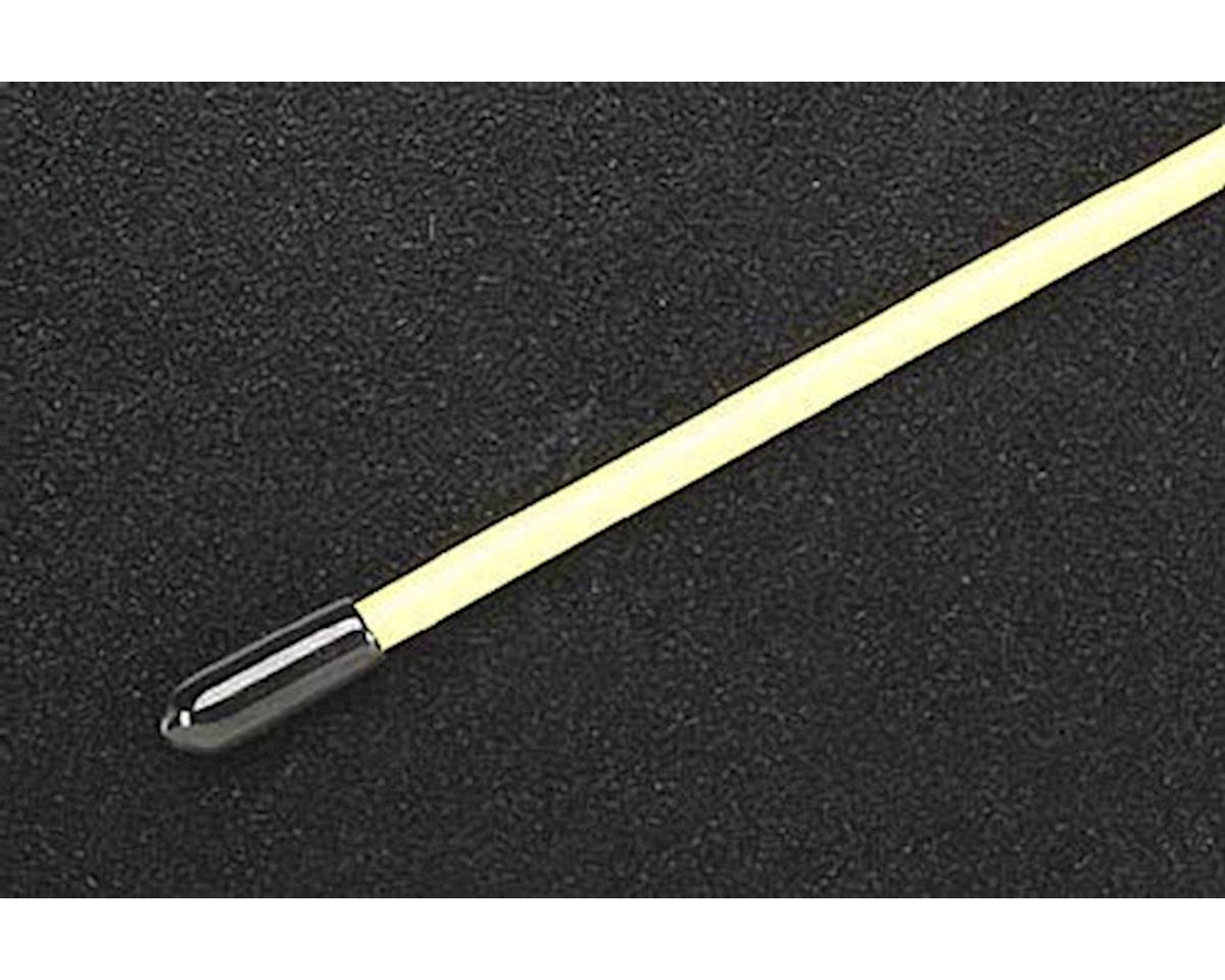 DuBro Antenna Tube with Cap, Yellow