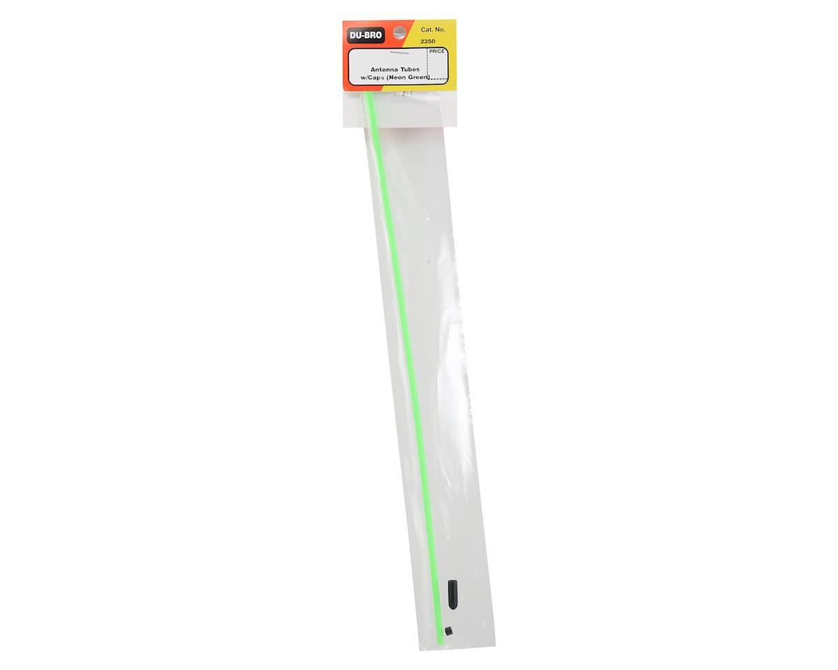 DuBro Antenna Tube w/Cap (Neon Green)