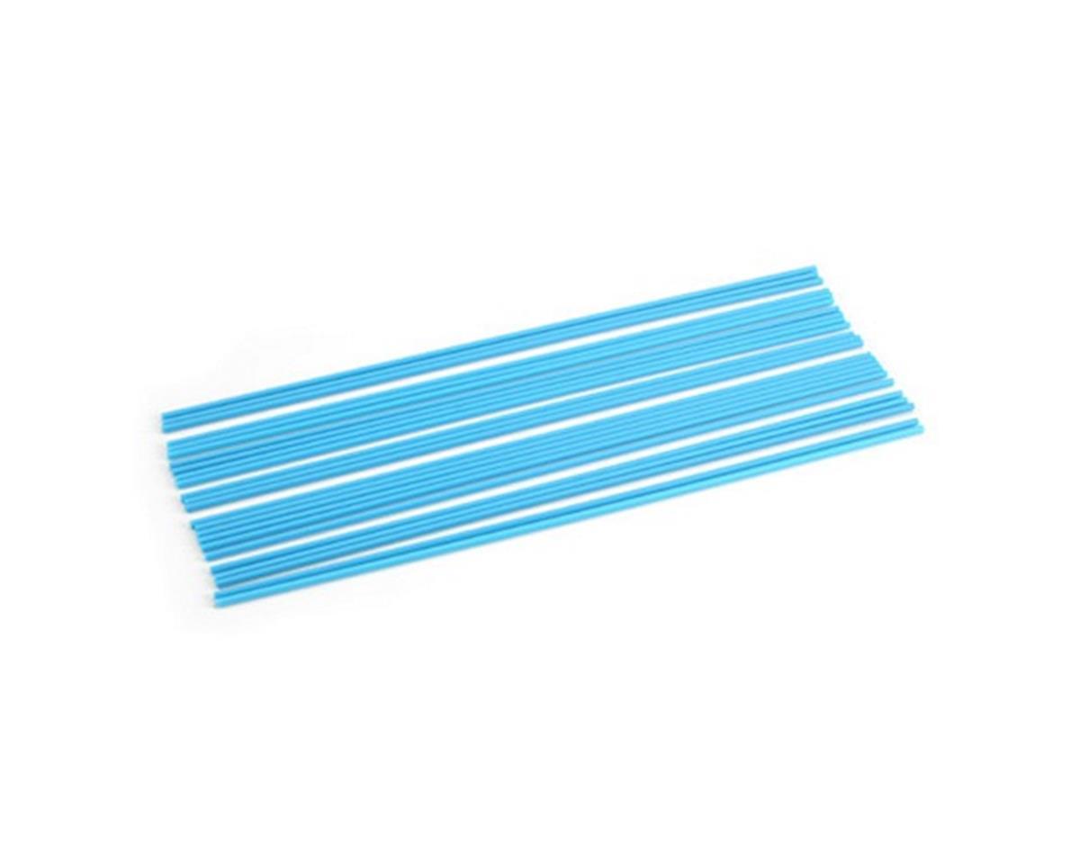 DuBro Antenna Tubes, Neon Blue (24)