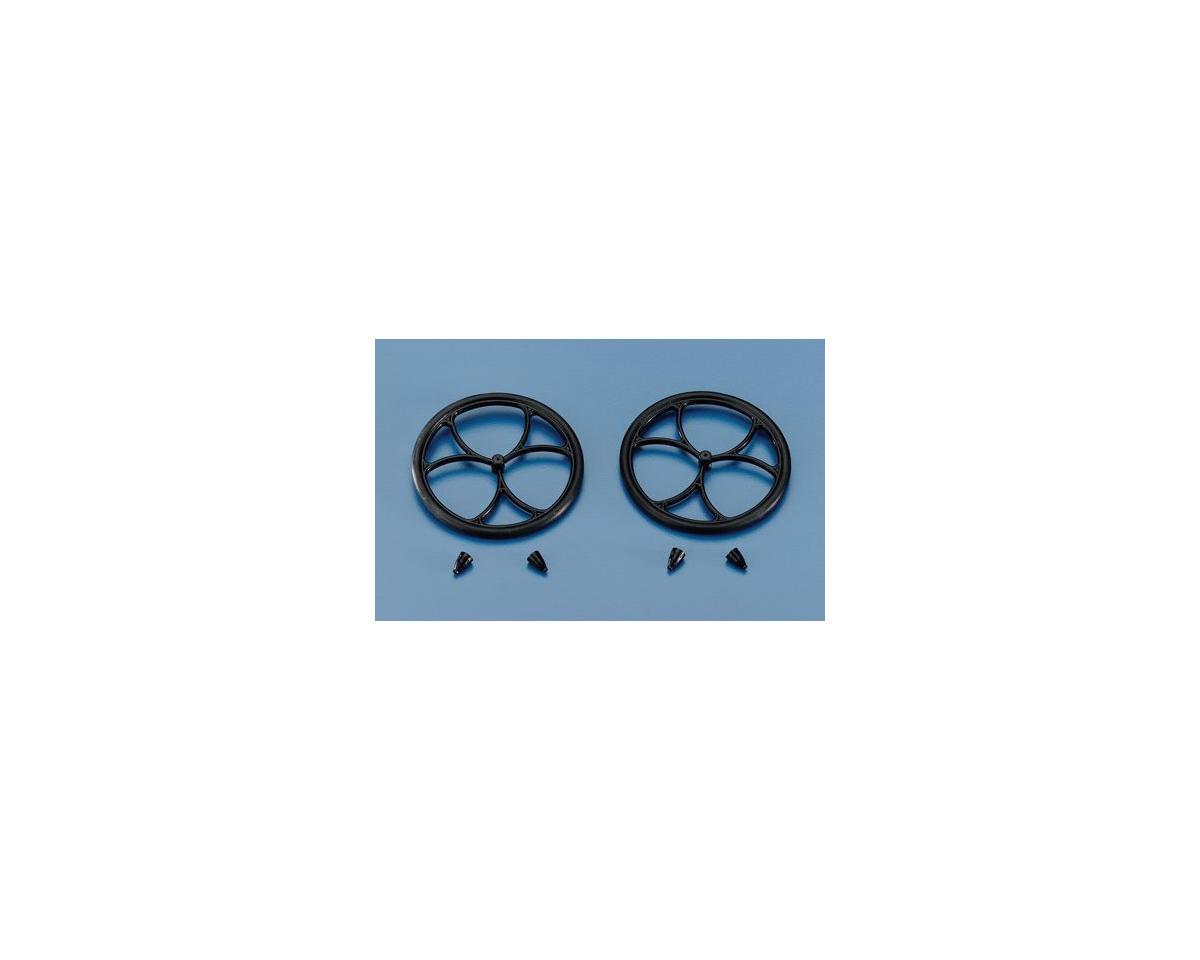 """Du-Bro 2-1/2"""" Micro Lite Wheel (2)"""