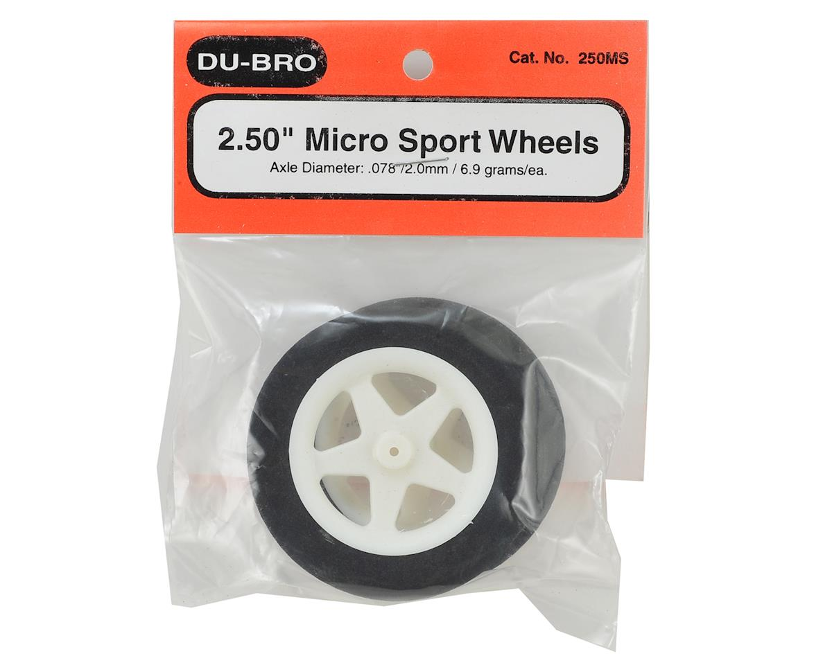 "Image 2 for DuBro 2.50"" Micro Sport Wheels (2)"