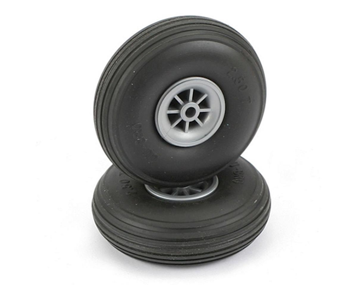"Treaded Wheels,2-1/2"" by DuBro"