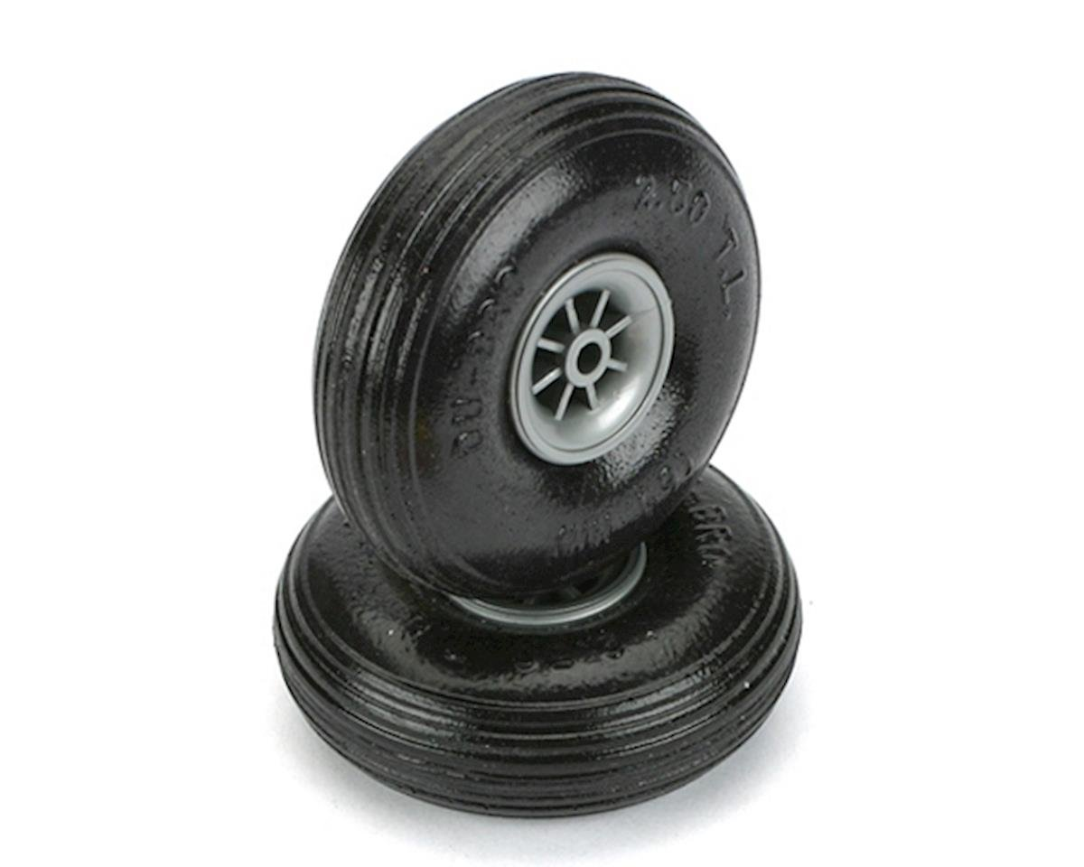 "Treaded Lite Wheels,2-1/2"" by DuBro"