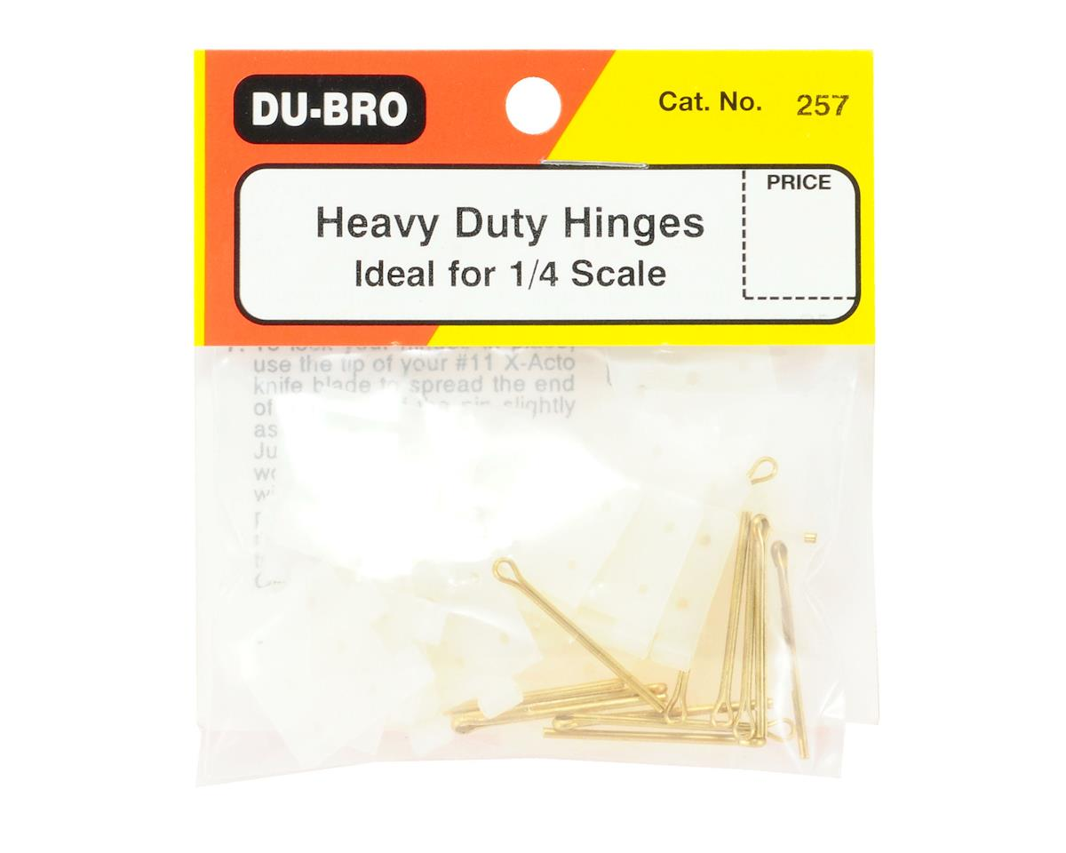 DuBro Heavy Duty Nylon Hinges (15)
