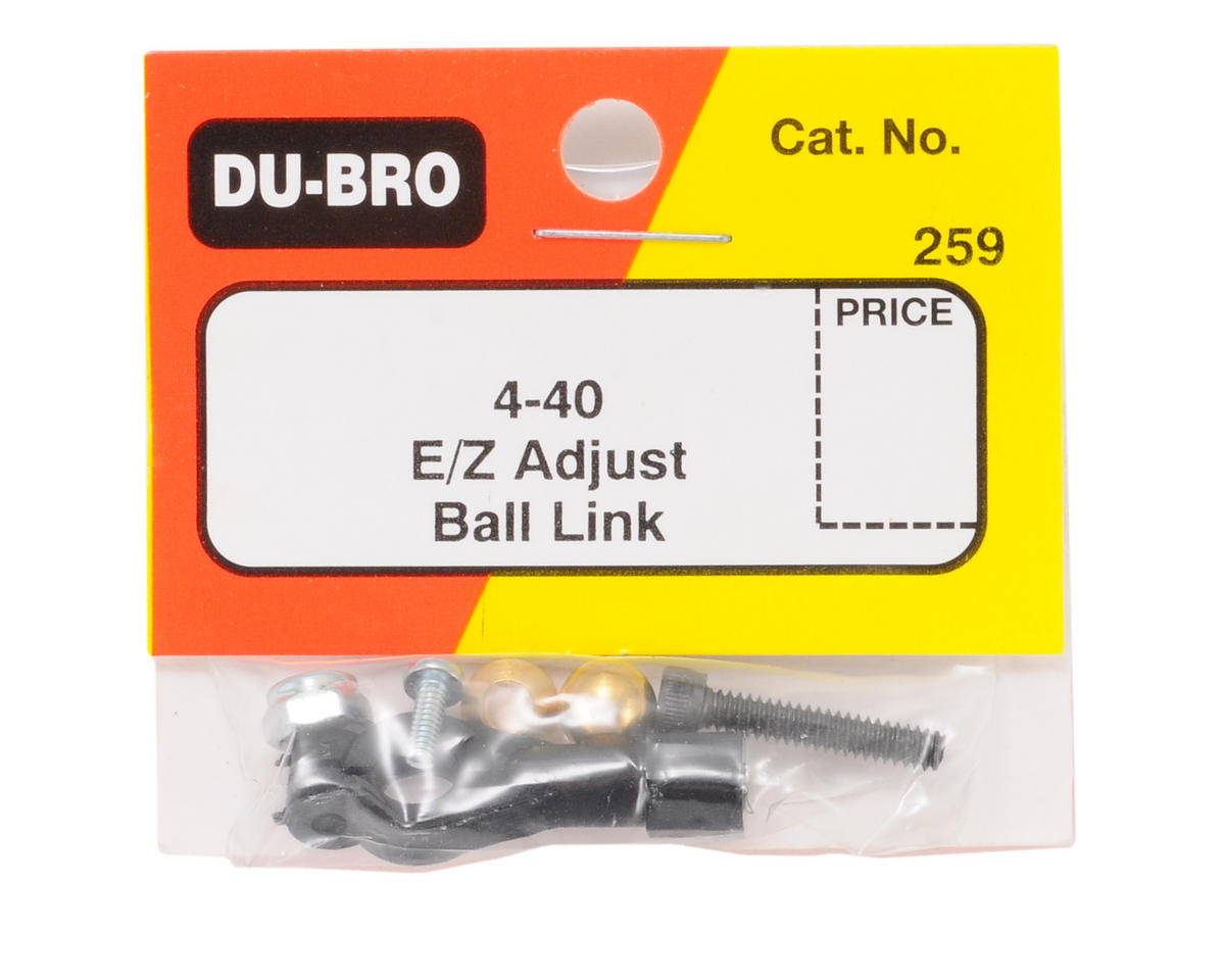 Du-Bro 4-40 Heavy Duty Threaded Ball Link