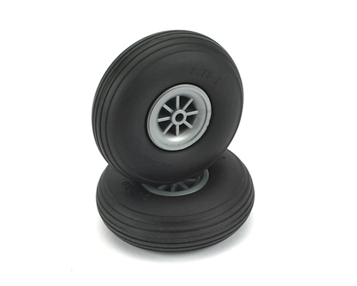 "DuBro 2-3/4"" Treaded Wheels 