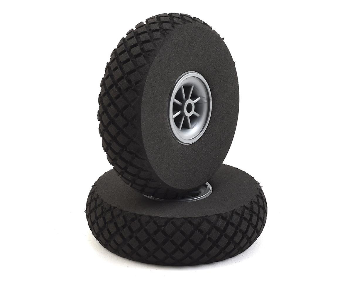 "DuBro 3"" Diamond Lite Wheels (2)"
